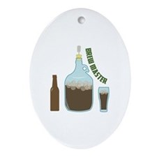 Brew Master Ornament (Oval)