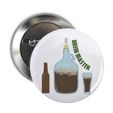 """Brew Master 2.25"""" Button (100 pack)"""