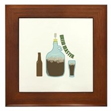 Brew Master Framed Tile