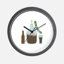 Brew Master Wall Clock