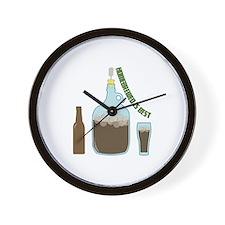 Homebrewed is Best Wall Clock
