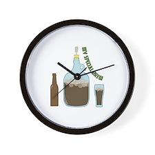 Special Brew Wall Clock
