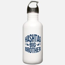 Big Brother Hashtag Water Bottle