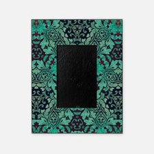 rustic bohemian damask pattern Picture Frame