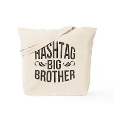 Big Brother Hashtag Tote Bag