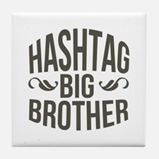 Big Brother Hashtag Tile Coaster