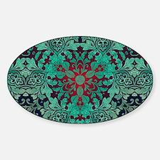 rustic bohemian damask pattern Bumper Stickers