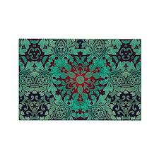 rustic bohemian damask pattern Magnets
