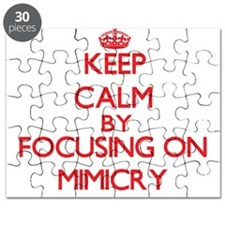 Keep Calm by focusing on Mimicry Puzzle