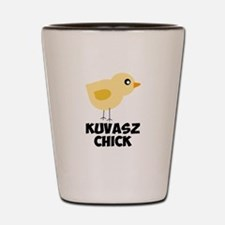 Kuvasz Chick Shot Glass