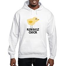 Kuvasz Chick Hoodie