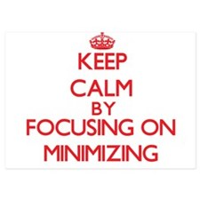 Keep Calm by focusing on Minimizing Invitations