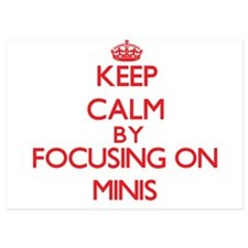 Keep Calm by focusing on Minis Invitations
