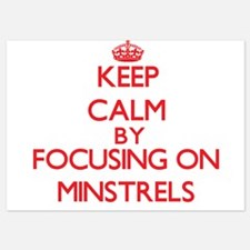 Keep Calm by focusing on Minstrels Invitations