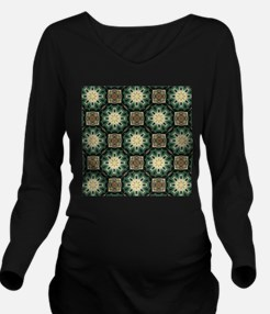 rustic abstract bohe Long Sleeve Maternity T-Shirt
