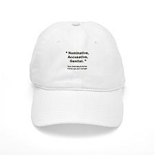 Nominative, Accusative, Genital Baseball Cap