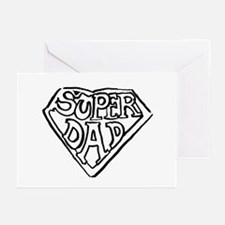 Super Dad Greeting Cards (Pk of 10)