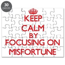 Keep Calm by focusing on Misfortune Puzzle