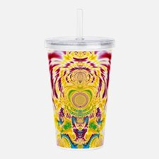 Red Spring Acrylic Double-wall Tumbler