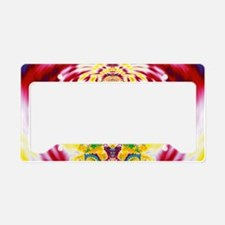 Red Spring License Plate Holder
