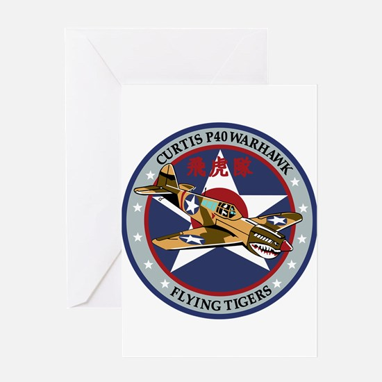 p-40 Greeting Cards