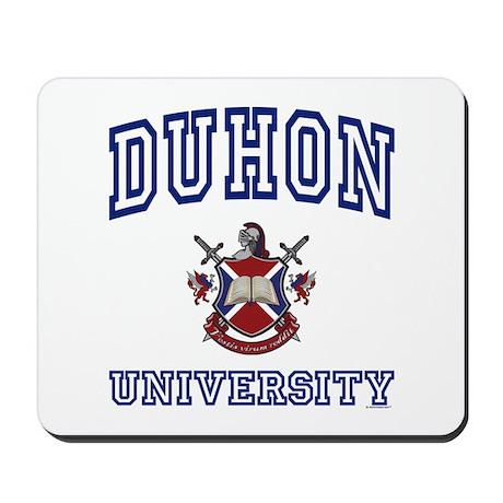 DUHON University Mousepad