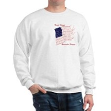 Veterans Never Forget USA Sweatshirt