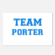 TEAM PORTER Postcards (Package of 8)