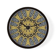 Arabesque Sun Wall Clock