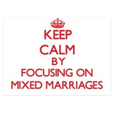 Keep Calm by focusing on Mixed Marriag Invitations
