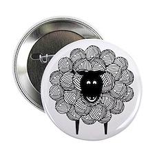 "Yarny Sheep 2.25"" Button (10 pack)"