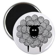 Yarny Sheep Magnet