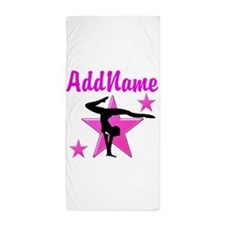 SUPREME GYMNAST Beach Towel