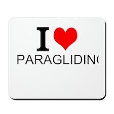 I Love Paragliding Mousepad