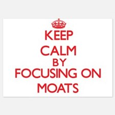Keep Calm by focusing on Moats Invitations