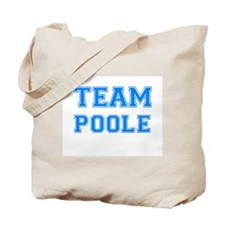 TEAM POOLE Tote Bag