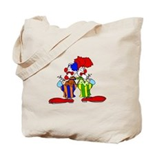 funny clown Tote Bag