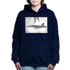 VFA195PRINT.jpg Women's Hooded Sweatshirt