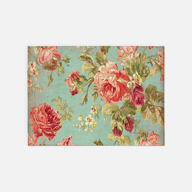 Vintage Floral Rugs, Vintage Floral Area Rugs