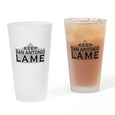 Keep San Antonio Lame Drinking Glass