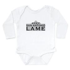 Keep San Antonio Lame Body Suit