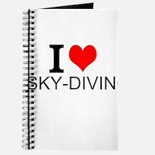 I Love Sky-Diving Journal