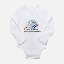 Stork Baby Scotland USA Body Suit