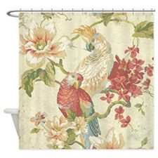 Cute Green chic Shower Curtain