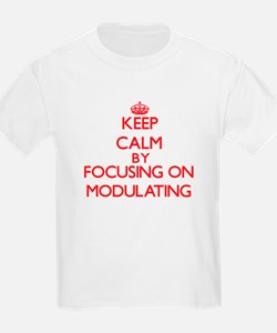 Keep Calm by focusing on Modulating T-Shirt