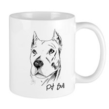Pit Bull Collector Small Mug