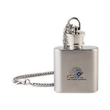 stork baby scot 2.psd Flask Necklace