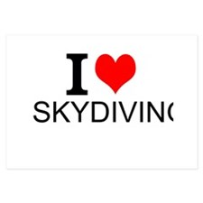 I Love Skydiving Invitations