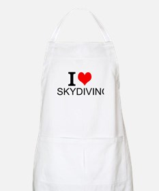 I Love Skydiving Apron