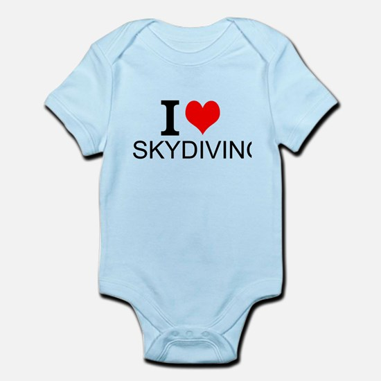 I Love Skydiving Body Suit